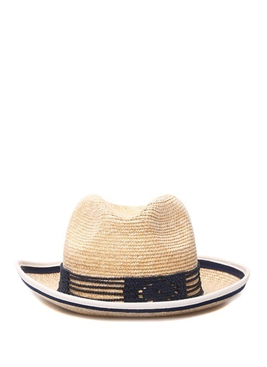 Ferruccio Vecchi Şapka Mavi